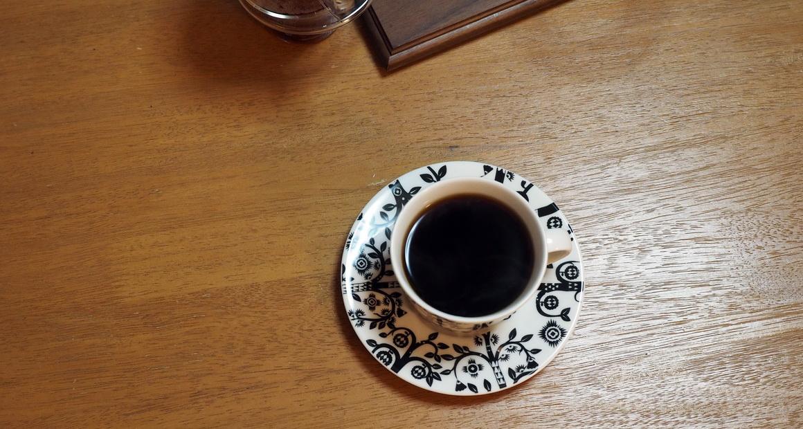 上島珈琲焙煎所_エチオピア_ゴチチ_GOTITI_G1_抽出完了