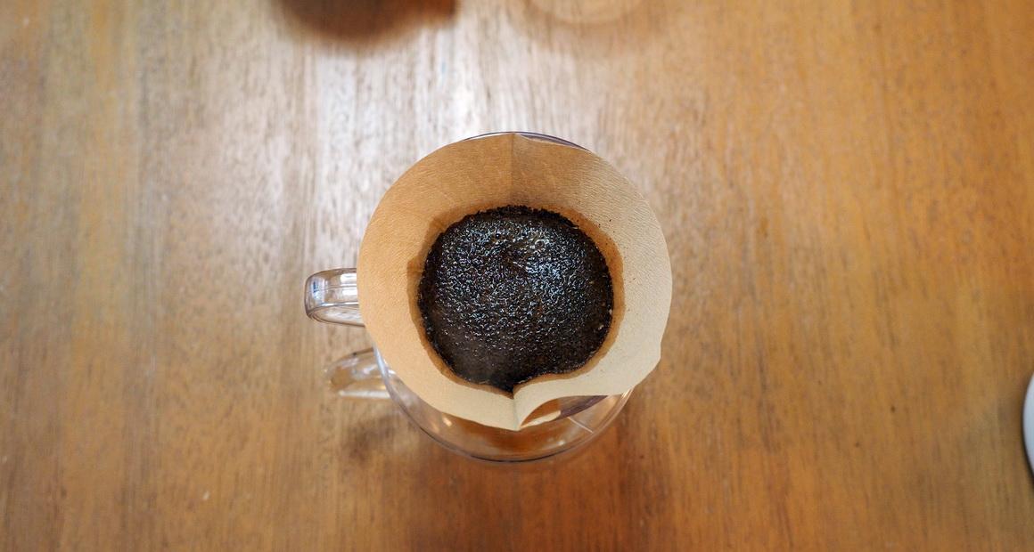 銀座カフェーパウリスタ_コーヒー通販_ニューイヤーブレンド_蒸らし
