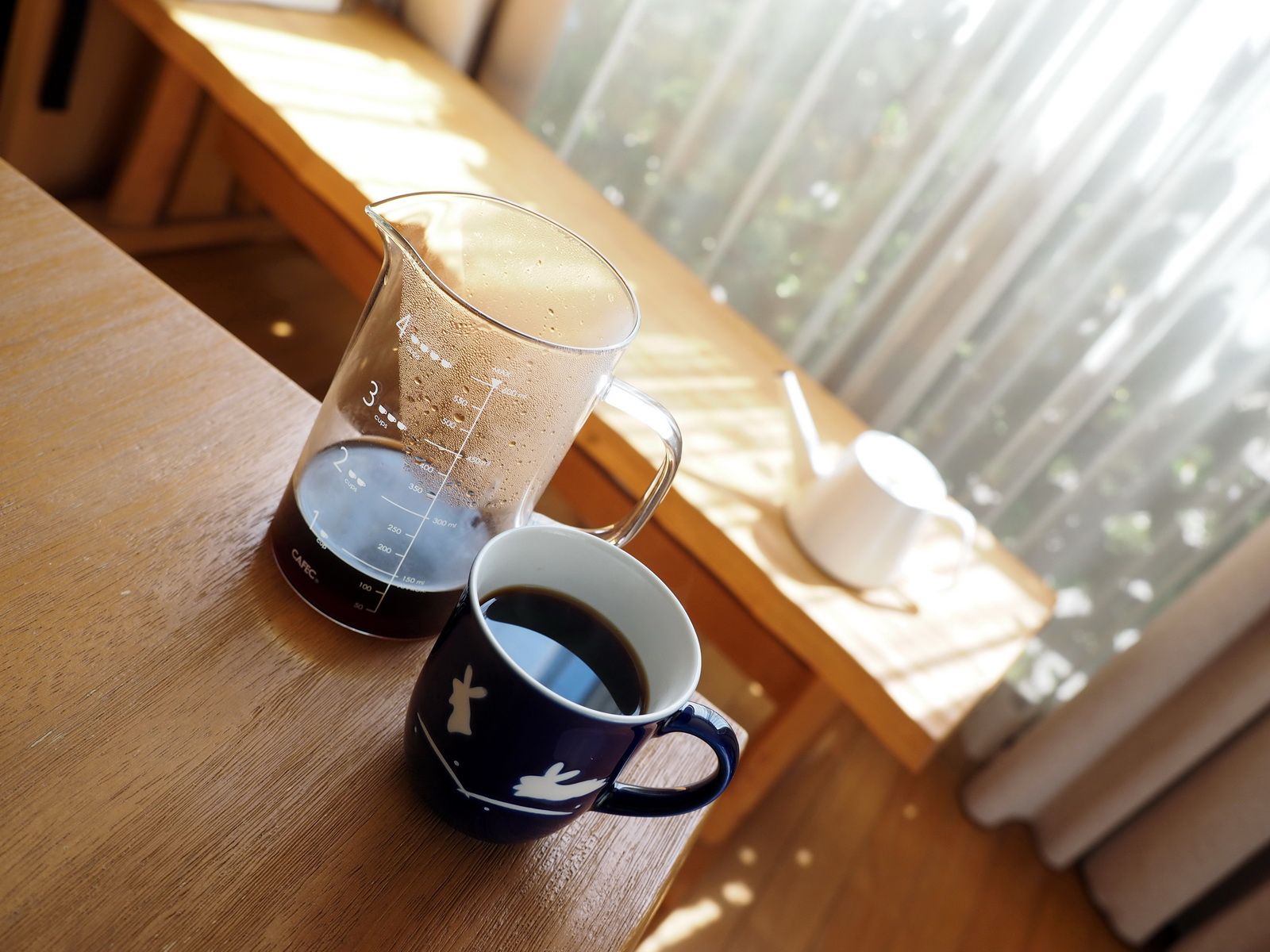 通販で藤田珈琲からコーヒー豆のお取り寄せ_プレミアムラオスブレンド_抽出完了