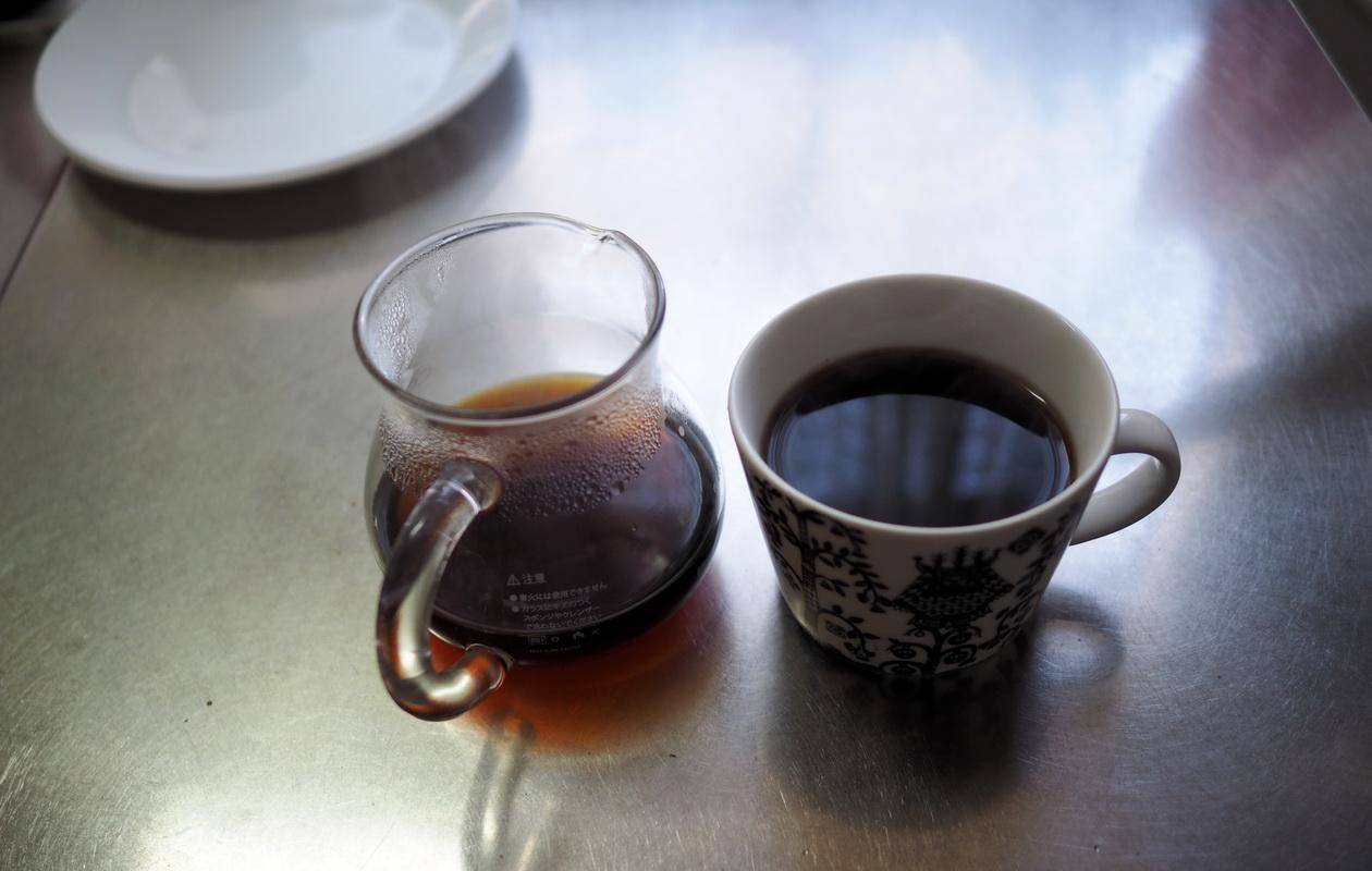 加藤珈琲店_Qグレード_コーヒー豆_グアテマラ_抽出完了