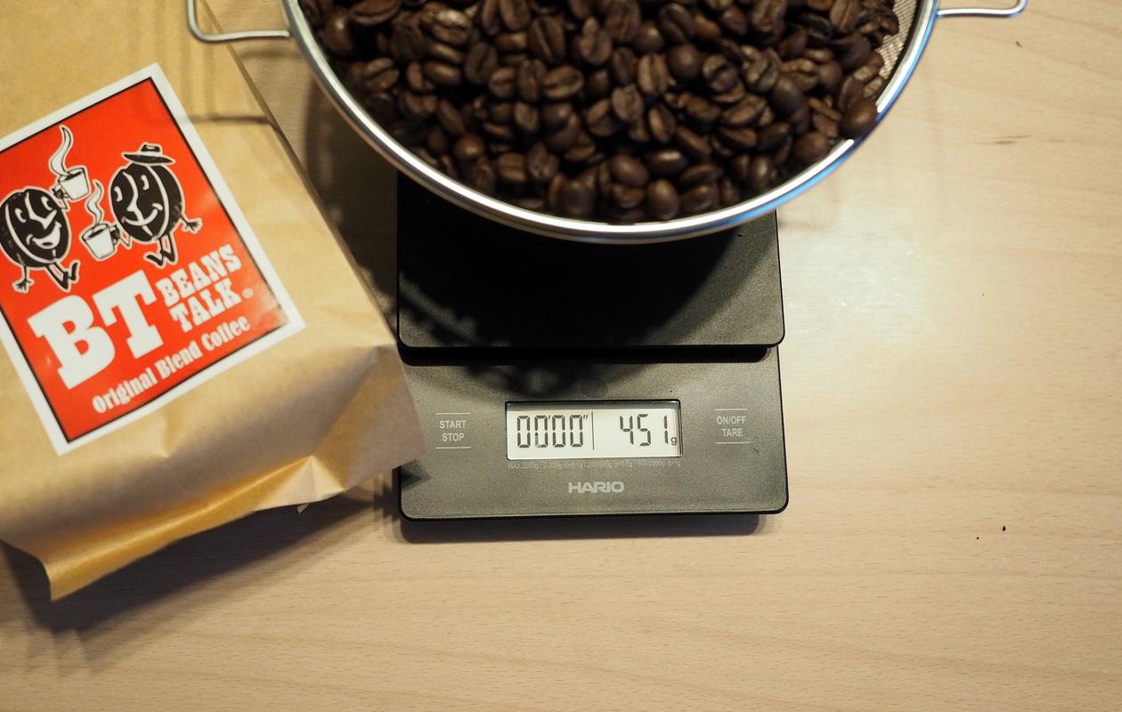 こだわりコーヒー豆 カフェごこちのオリジナルブレンド_OKな豆