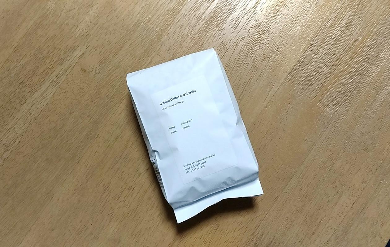 Jubilee coffee and Roasterのブレンドコーヒー豆