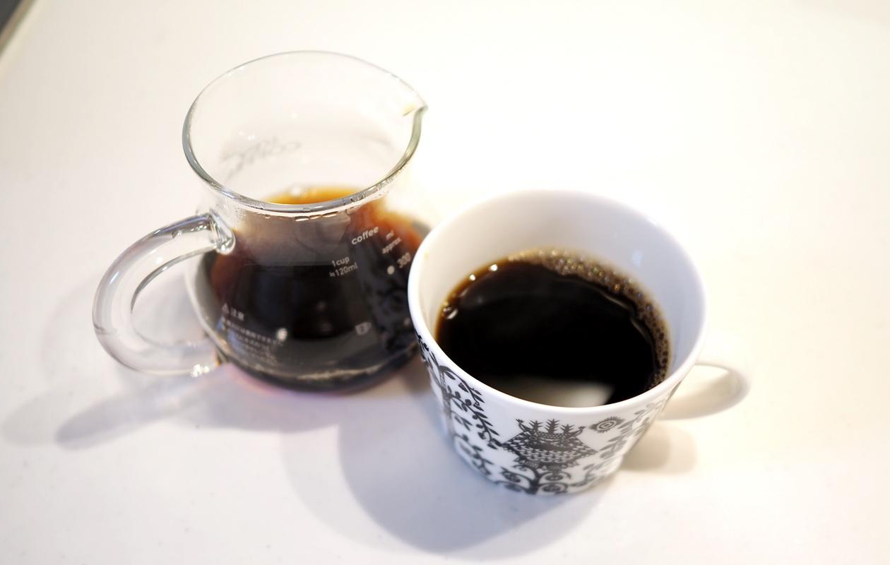 inuit coffee roasterのトライアルセット_チリングブレンドを抽出