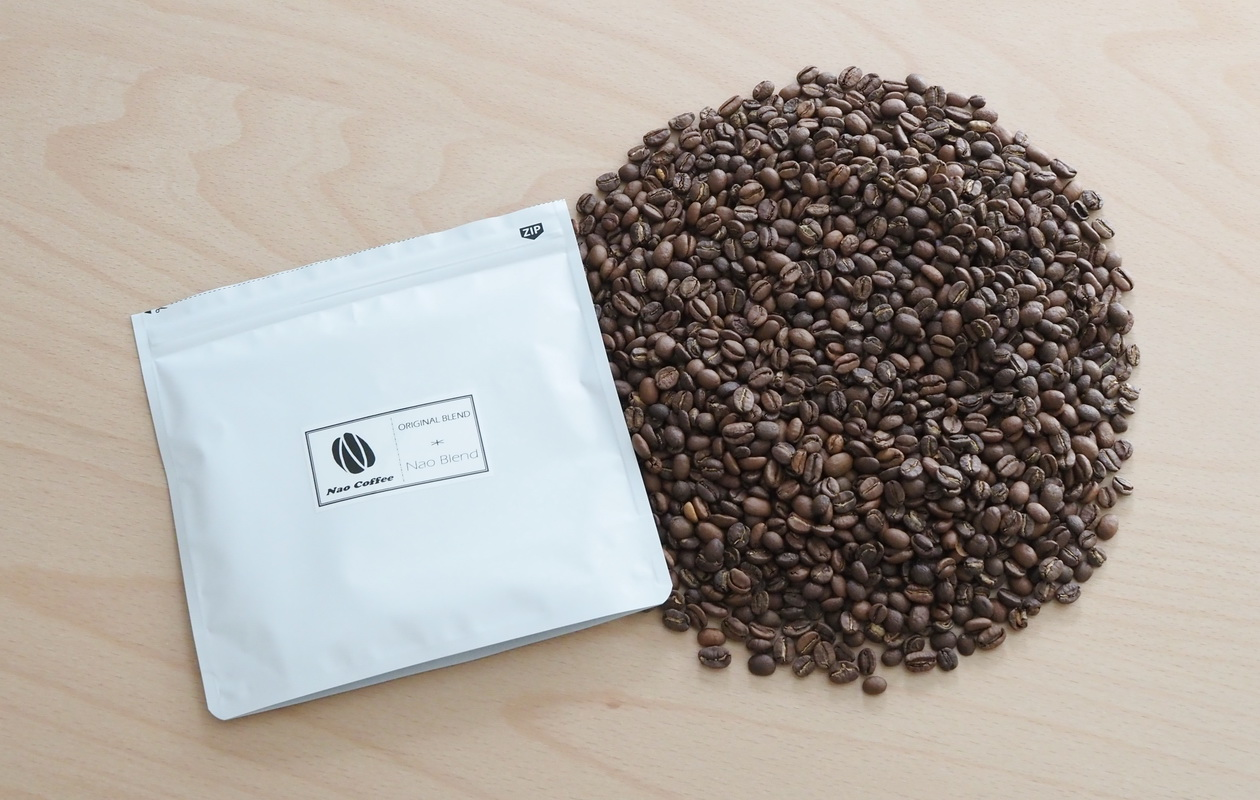 NaoCoffeeのNao Blend-コーヒー豆の状態-