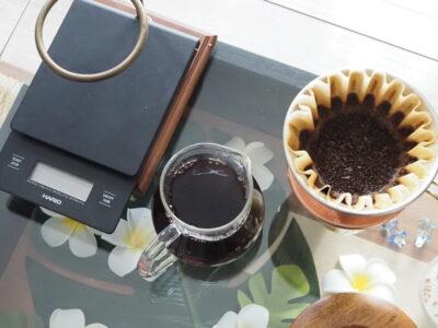 NaoCoffeeのNao Blend-コーヒーの抽出完了-
