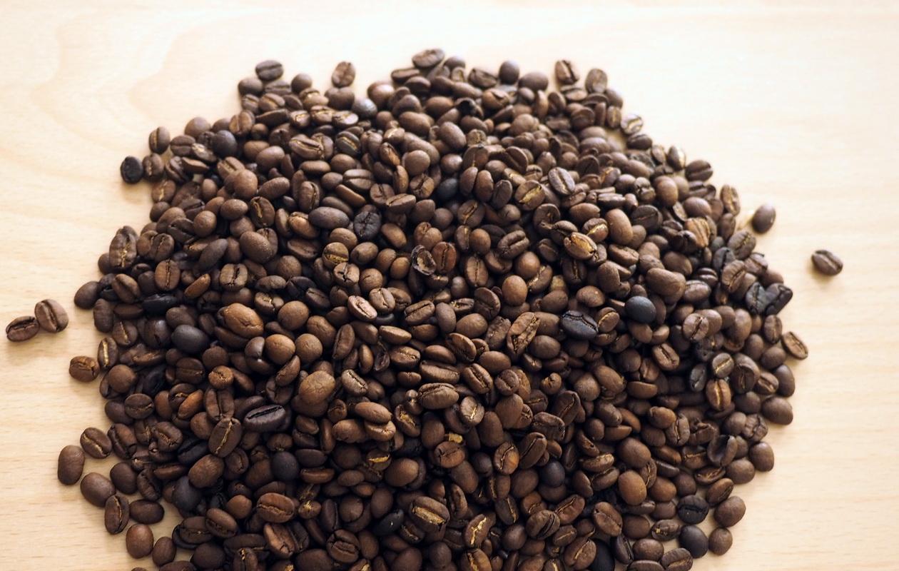 魔性の味_珈琲オンリー オリジナルブレンド_コーヒー豆の状態