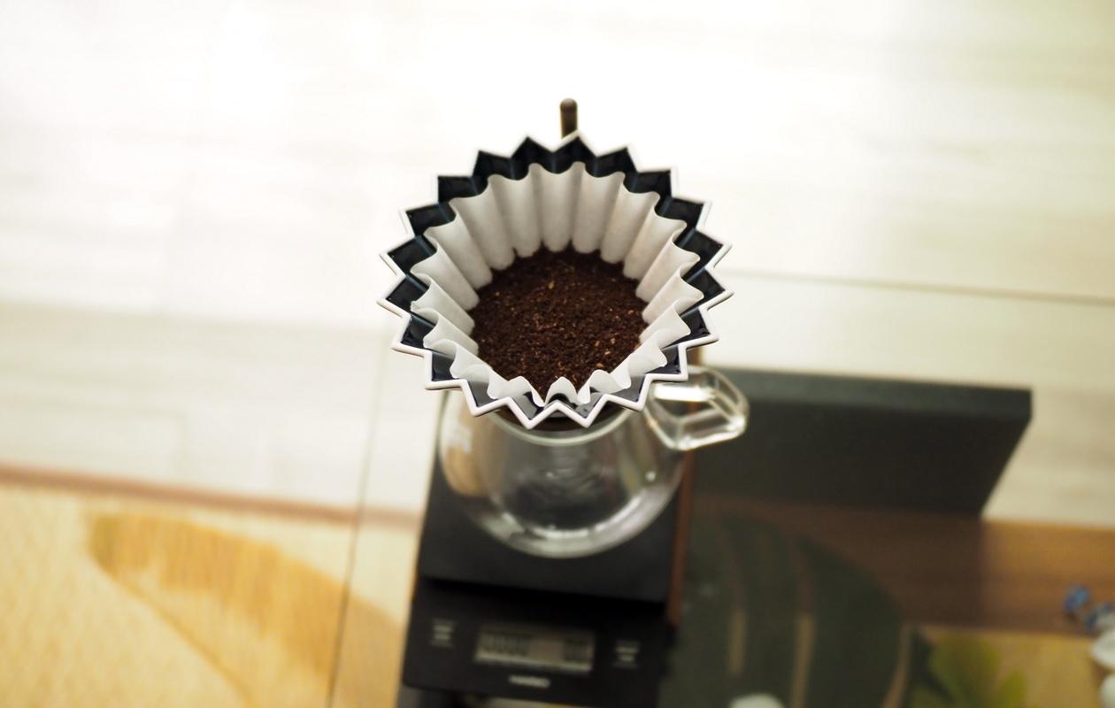 Nif Coffeeの「ふつう」コーヒーの抽出-ドリップの準備-