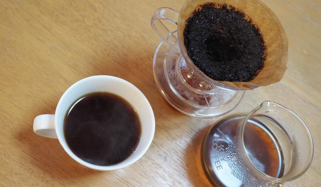 欅cafe_コーヒー豆_パナマ バルマウンテン_抽出完了