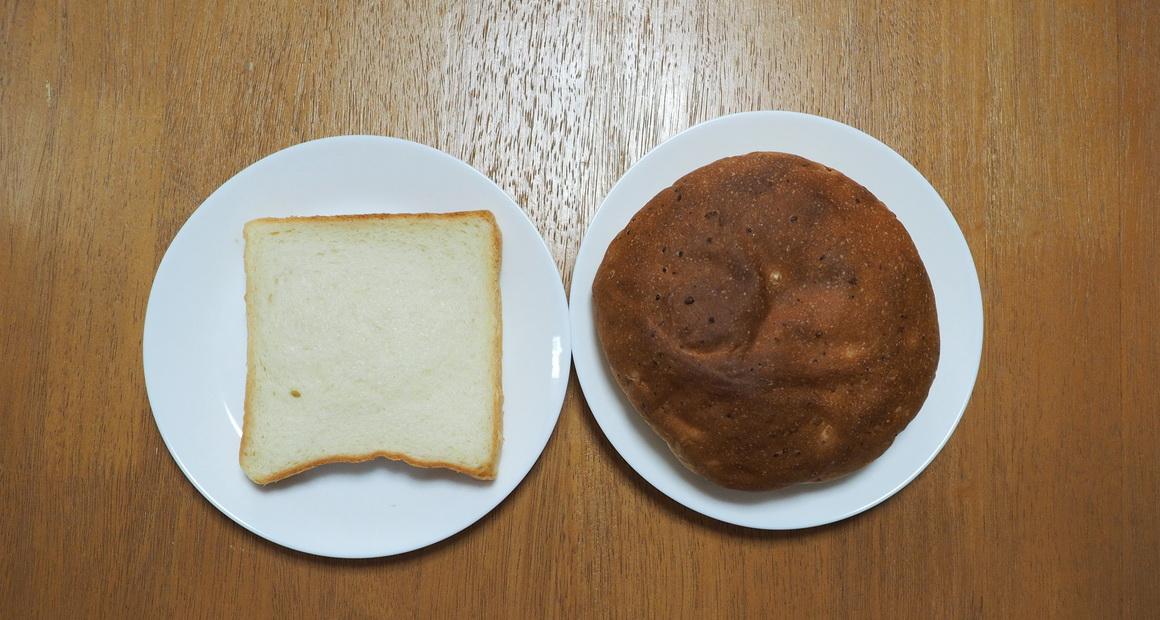 ユーディーベーカリー(UD Bakery)_安行あんぱん_食パンより大きい