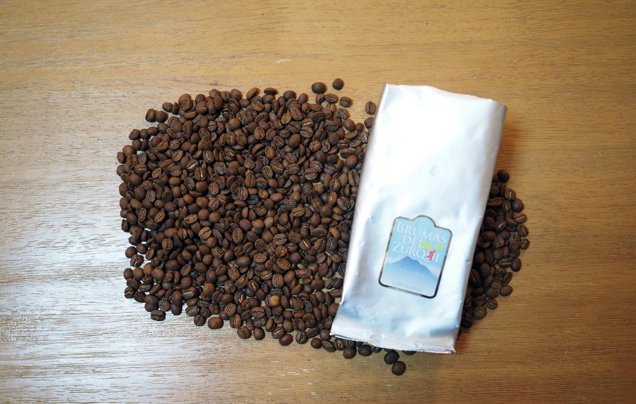 銀座カフェーパウリスタのブルーマス デル スルキ(コーヒー豆)