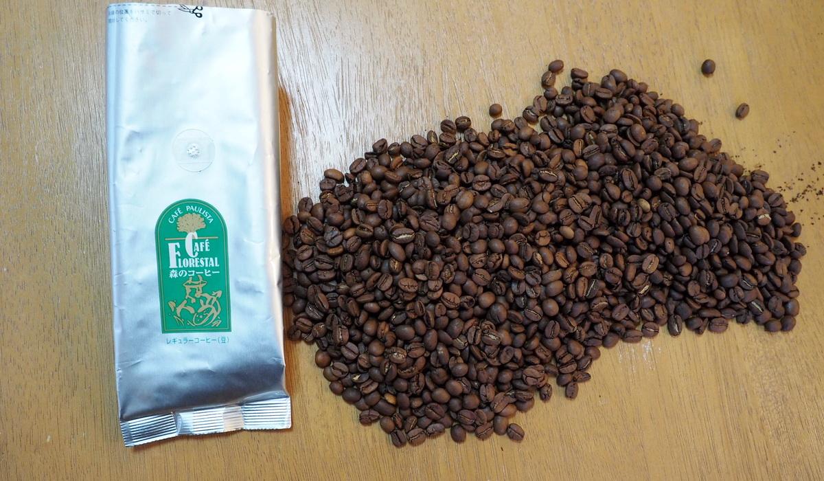 銀座カフェーパウリスタ_コーヒー通販_森のコーヒーブレンド_コーヒー豆の状態