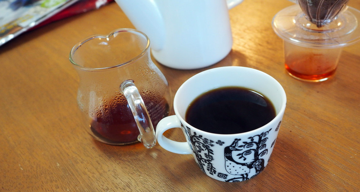 銀座カフェーパウリスタ_コーヒー通販_ニューイヤーブレンド_抽出完了