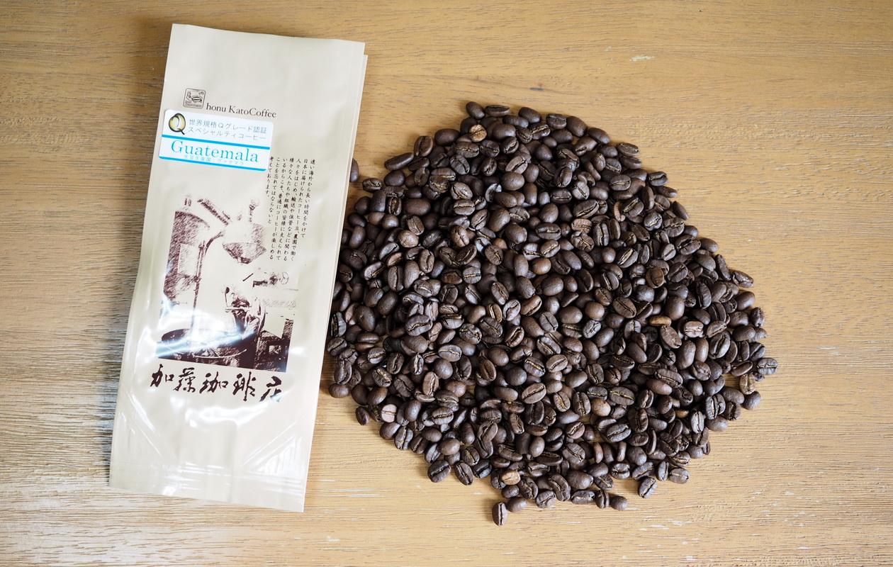 加藤珈琲店_Qグレード_コーヒー豆_グアテマラ_コーヒー豆の状態