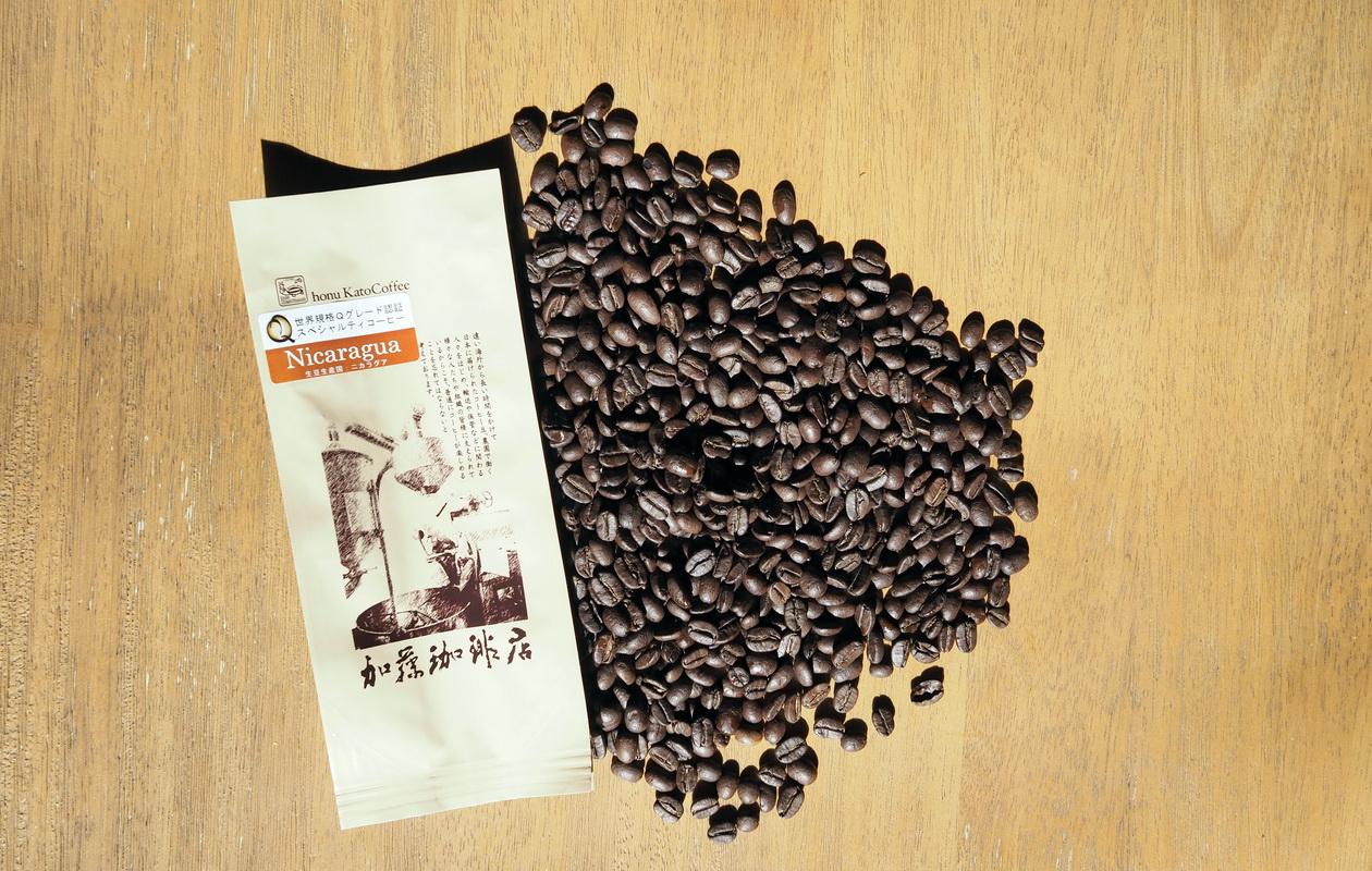 加藤珈琲店_Qグレード_コーヒー豆_ニカラグア_コーヒー豆の状態