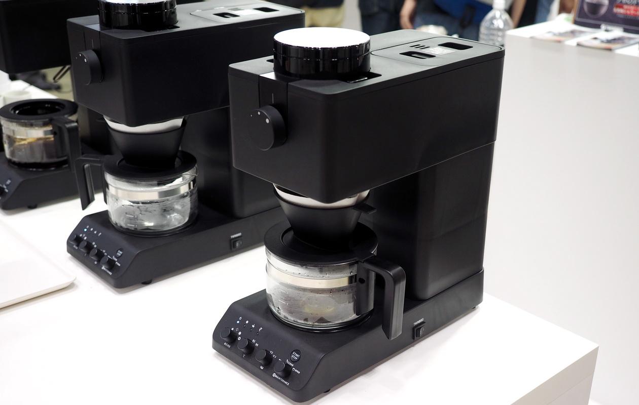 SCAJ2019 TWINBIRDのブースにあったコーヒーメーカー