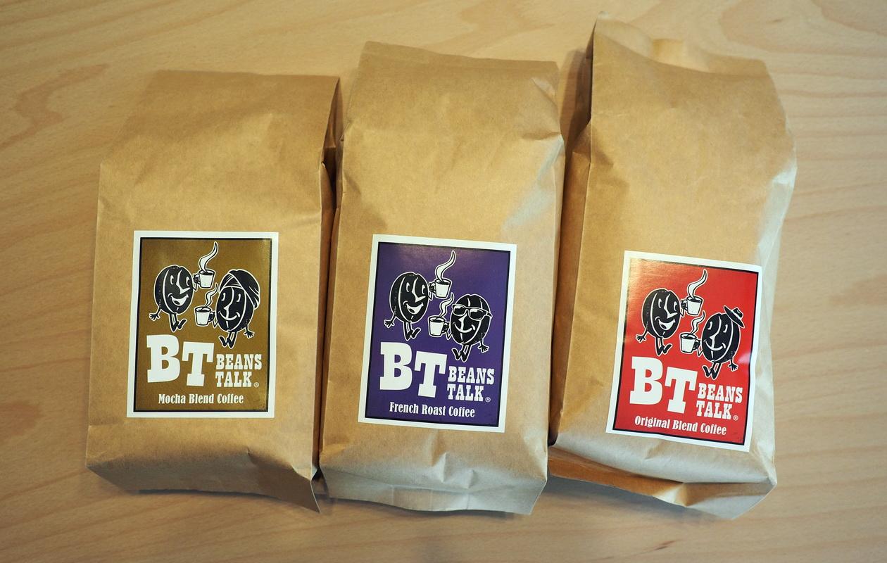 ビーンズトーク ブレンドコーヒー豆3種類