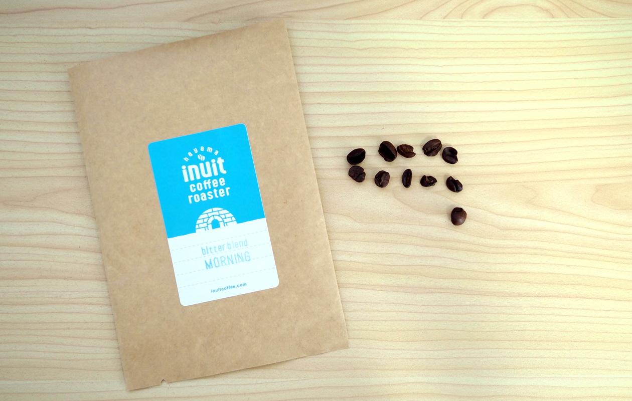inuit coffee roasterのモーニングブレンド50gのうち欠点豆は11個